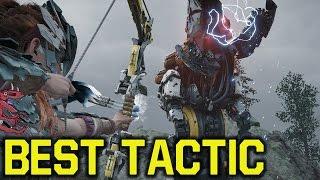 Horizon Zero Dawn tips and tricks -  BEST TACTIC To Kill Machines (Horizon Zero Dawn Tipps )