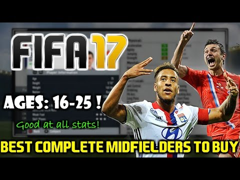 FIFA 17: BEST ALL ROUND MIDFIELDERS TO BUY ON CAREER MODE (16-25)