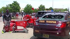Protesters damage trooper squad vehicle at St. Paul Target
