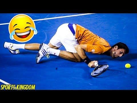 TOP Epic Funny \u0026 Fails Moments In Tennis History [Part 1] | HD