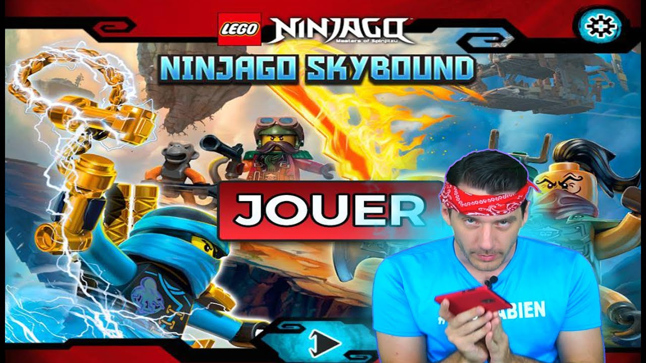 Lego ninjago skybound jeu video ninjago episode 1 youtube - Jeux gratuits ninjago lego ...