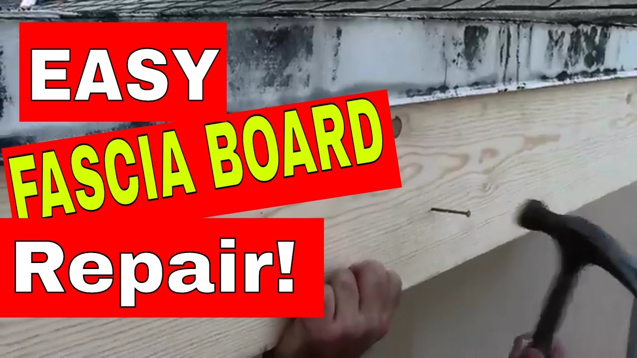 Roof Fascia Board How To Repair Or Replace Rotten Wood