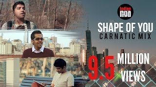 Video Shape Of You: Carnatic Mix (Feat. Aditya Rao) download MP3, 3GP, MP4, WEBM, AVI, FLV Agustus 2018