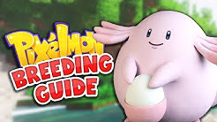 The Ultimate Pokemon Breeding Guide! | Minecraft: Pixelmon