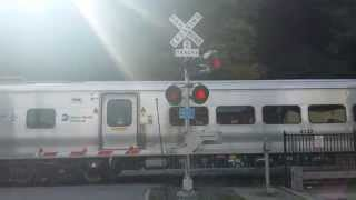Bombardier M7A Train @ Brewster. Harlem Line Metro North