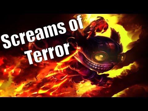 Screams Of Terror - Dragon Ball League (Season 3)