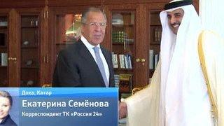 В Дохе Лавров обсудил с Керри и аль-Джубейром Сирию и Иран(В Дохе Лавров обсудил с Керри и аль-Джубейром Сирию и Иран Москва надеется, что США и Саудовская Аравия прим..., 2015-08-04T04:06:53.000Z)