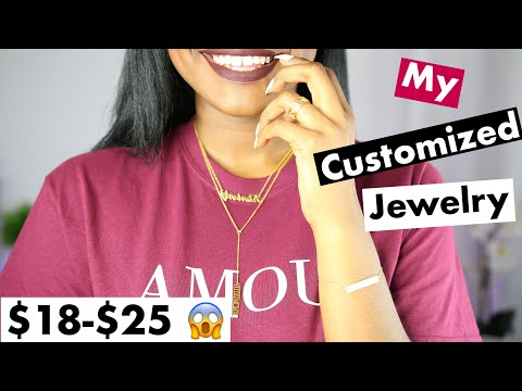My Customized Jewelry   Super AFFORDABLE YAFEINI JEWELRY Name Necklace