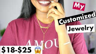 My Customized Jewelry | Super AFFORDABLE YAFEINI JEWELRY Name Necklace