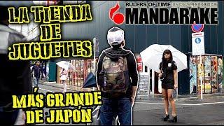 LA TIENDA DE JUGUETES MÁS GRANDE DEL MUNDO TOKIO JAPON AKIHABARA MANDARAKE