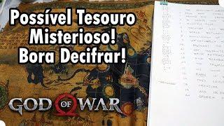 TESOURO ESCONDIDO NO MAPA DA EDIÇÃO DE COLECIONADOR DE GOD OF WAR!?