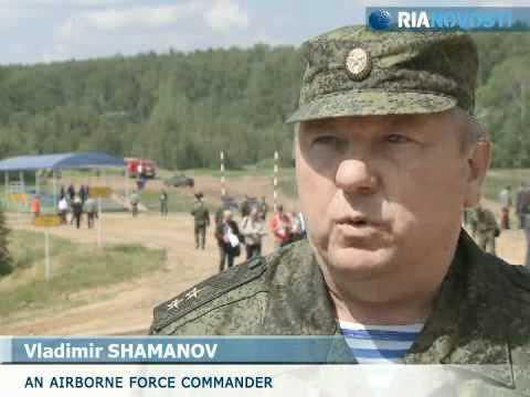 Sức mạnh xe quân sự bọc thép tối tân của Nga.flv