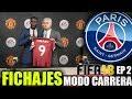 ¡MERCADO DE FICHAJES! ¿SE VIENE MESSI?   FIFA 18 Modo Carrera ''Manager'' París Saint-Germain FC #2