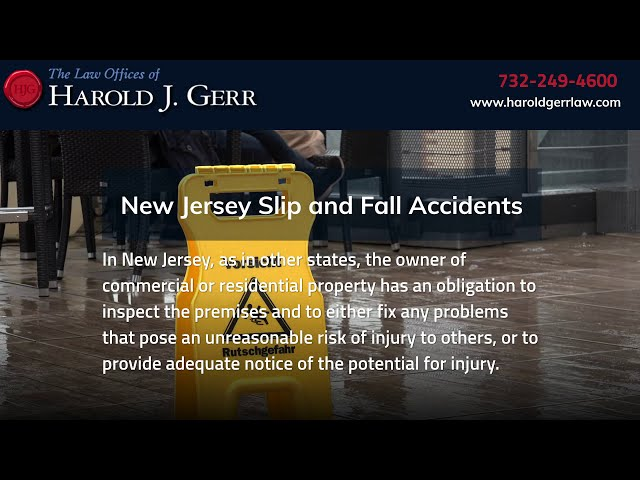 Slip and Fall Accident Lawyers | The Law Offices of Harold J. Gerr