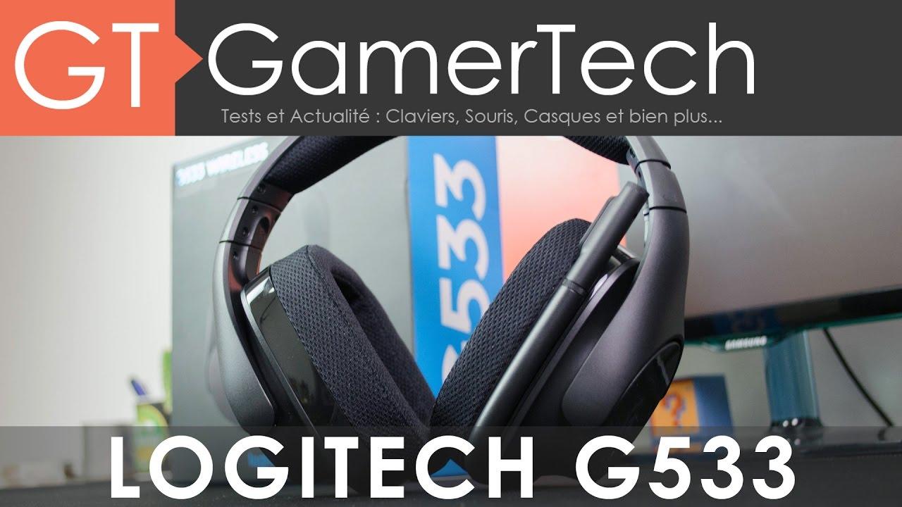 Logitech G533 - Unboxing & Test [FR] - Le