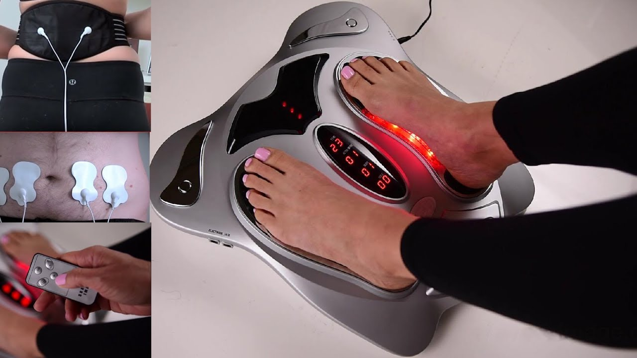 Review Top10 Electric Pulse Foot Massager Machine With Heat For