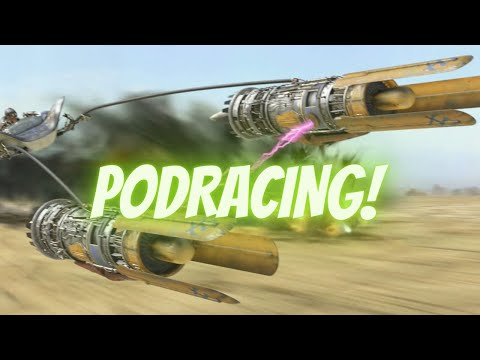 Now THIS is Pod Racing! | Star Wars Episode I Racer |