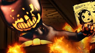 BENDY can be DESTROYED & I KNOW HOW!😱 - Bendy and the Ink Machine Chapter 5 (BATIM 2D Fan Gameplay)