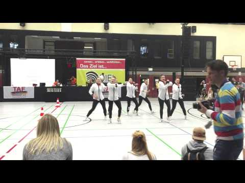 West Deutsche Meisterschaft TAF 2015 Hip Hop Small Group SLAM Crew 3  Platz