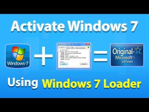 Windows 7 Loader - How To Activate Windows 7 Permanently