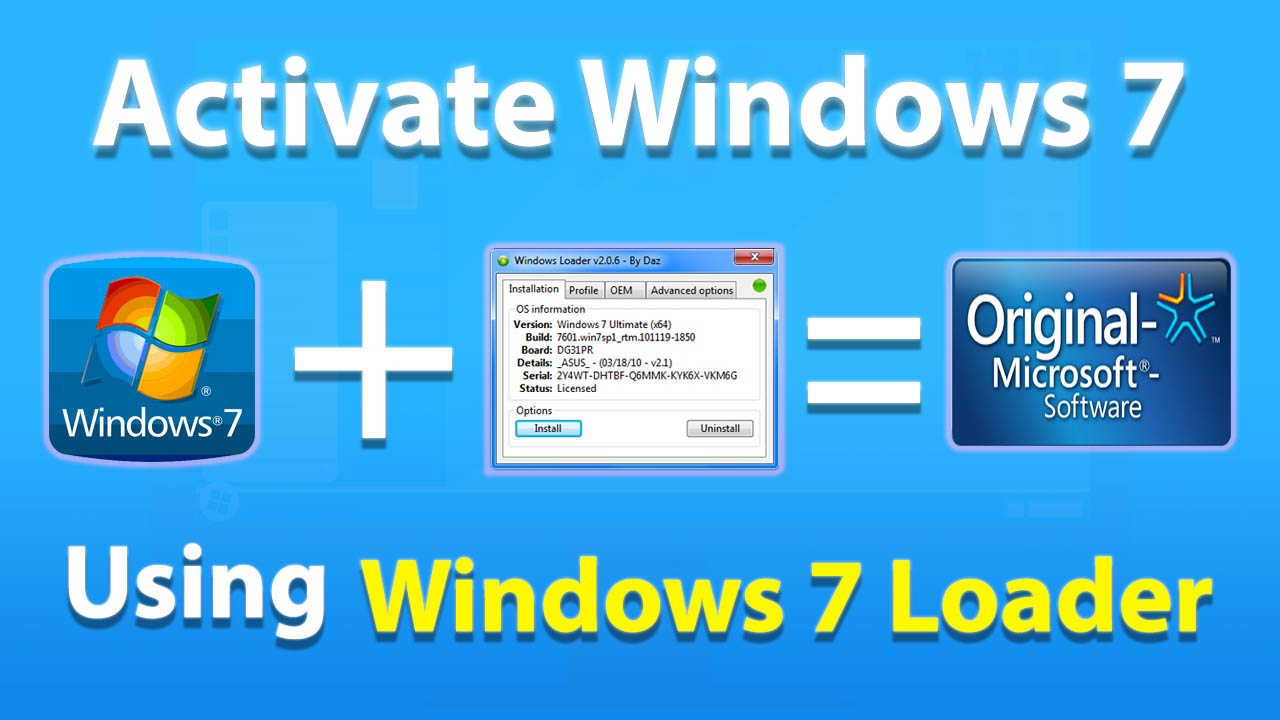 Windows 7 Loader Crack Archives