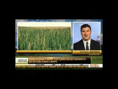 Farm Bureau's Nepveux on Industrial Hemp
