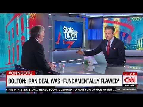 Bolton: U.S. Will Reimpose Pre-Nuke Deal Sanctions on Iran