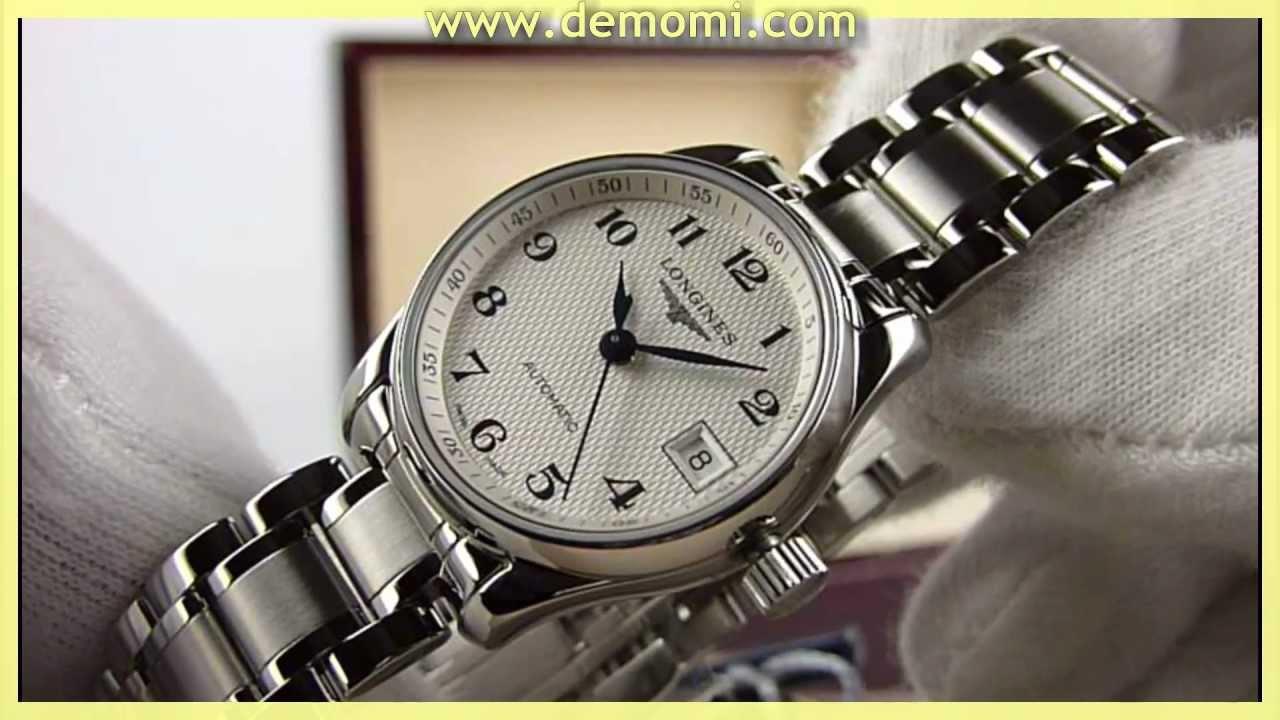 62e4c463c Longines L 2.128.4.78.6 Master collection ladies automatic steel bracelet