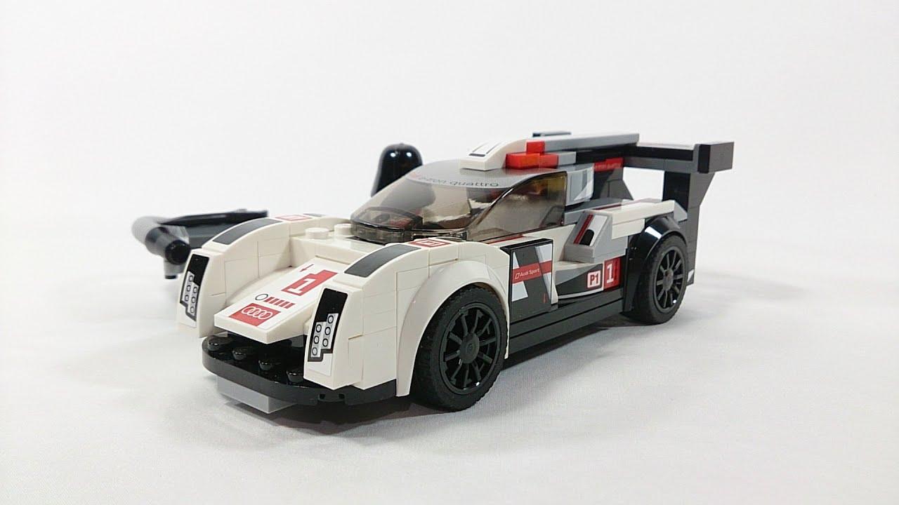 Lego Speed Champions 2016 Audi R18 E Tron Quattro Review