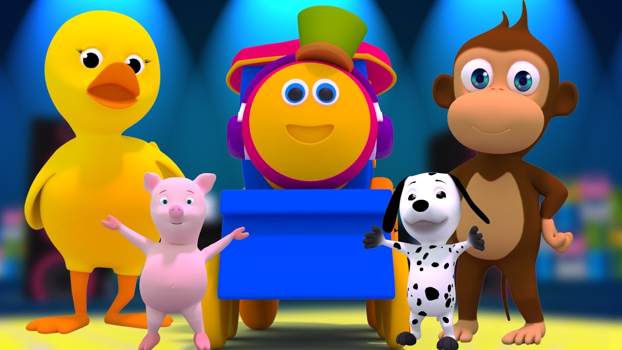 Bob il treno animal sounds canzone youtube