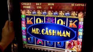 BIG WIN!!!! Mr Cashman Slot Live Play