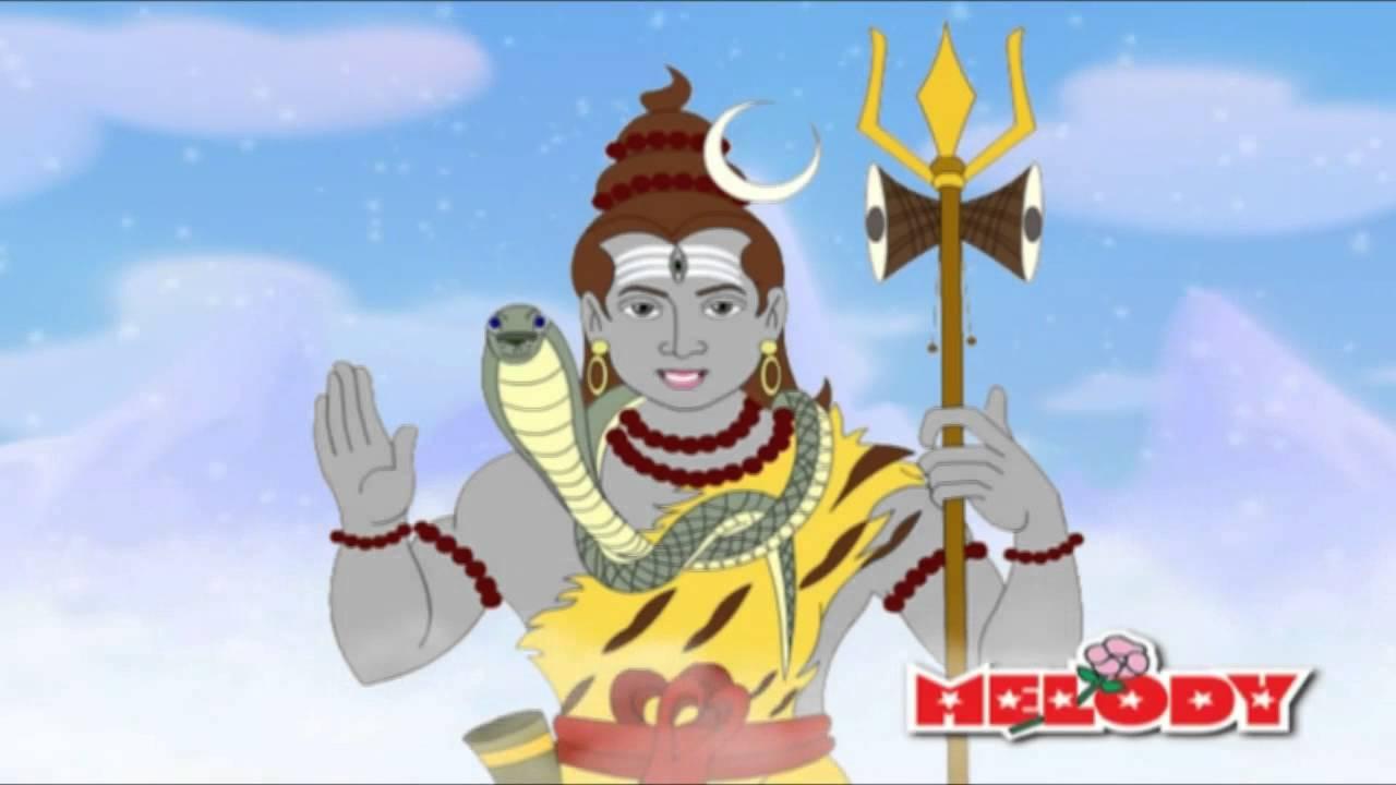 lord ayyappa animated
