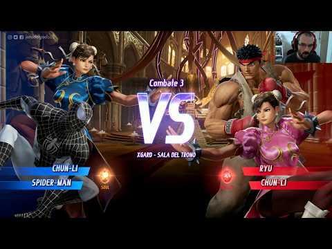 Así es MARVEL VS  CAPCOM: INFINITE   Gameplay primeros minutos