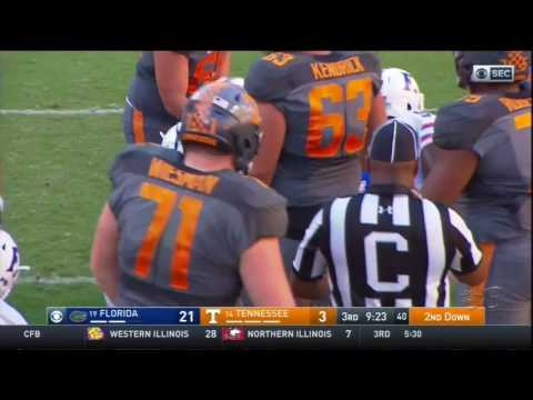 2016 Tennessee vs Florida: Offense Play by Play