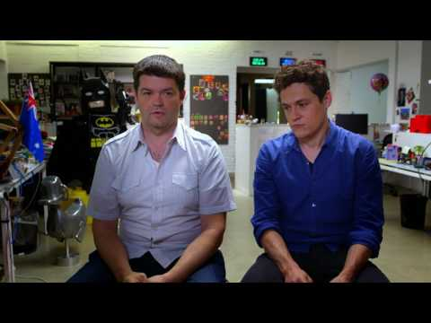 The LEGO Batman Movie: Producers Phil Lord & Christopher Miller Behind the s