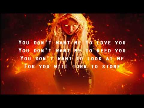 In This Moment - The Fighter (LYRICS)