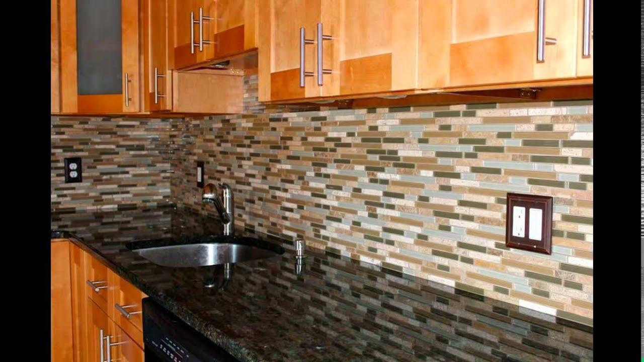 How To Tile A Kitchen Wall Youtube