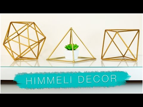 DIY GEOMETRIC ROOM