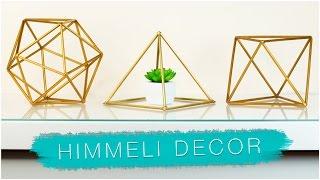 DIY GEOMETRIC ROOM DECOR | Himmeli Orb WITH STRAWS? PINTEREST & TUMBLR