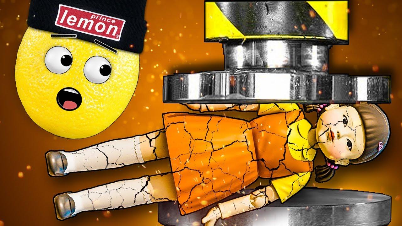 ПРЕСС ПРОТИВ КУКЛЫ ИЗ ИГРЫ В КАЛЬМАРА ЧАСТЬ 2! SQUID GAME Анимация эйсипи мультик Нубастер Play