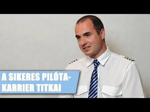 A sikeres pilóta karrier titkai - interjú Dénes Péterrel - www.pilotaszemmel.hu