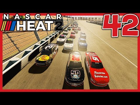 WE MIGHT HAVE FOUND SOME SPEED! |3/33| NASCAR Heat 2 Career Mode S3. Episode 42
