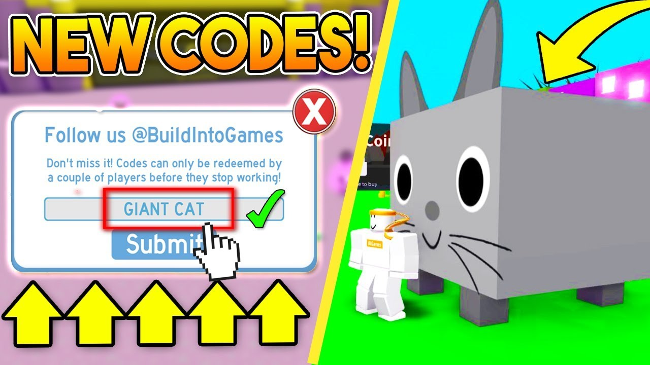 Roblox Pet Simulator Big Cat Code New Exclusive Codes In Pet Simulator Roblox Youtube
