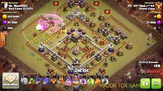 Clash of Clans | BOWI ATTACK STRATEGY | TH10 , 11 3 Stars | Bowler, Witch