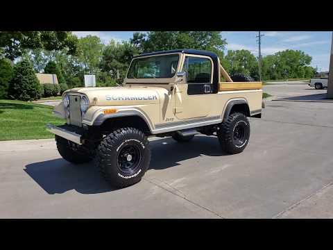 1982 Jeep Scrambler for sale test drive