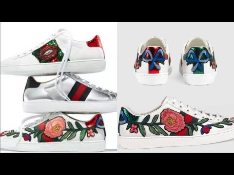 aa25d7a60aa iOffer- GUCCI Ace Embroidered Sneaker + Try On - YouTube