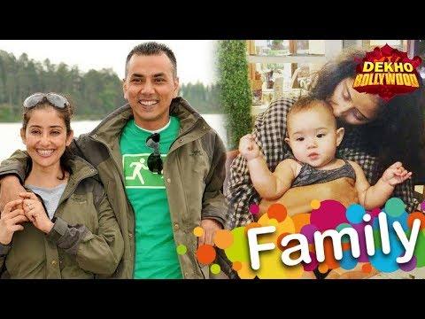 Actress Manisha Koirala Family Photos with Husband