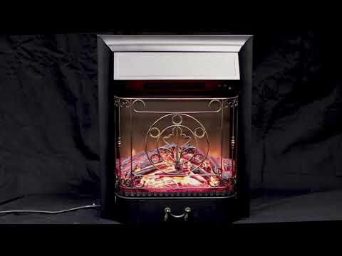 Электрический Очаг Royal Flame Majestic FX Black. Видео 1