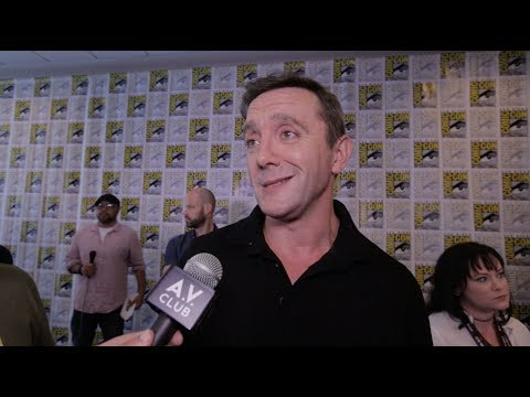 Peter Serafinowicz on learning to love The Tick