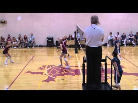 Shining Mountain Waldorf School Girls JV Volleyball vs. Belleview Christian School Game #3: 10/08/10